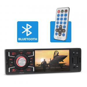 Rádiós médialejátszó + monitor+bluetooth, usb tolató kamerakép
