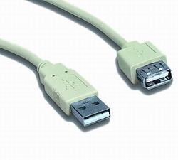 USB2.0 A-A 3m Hosszabitó P-M CABLE-143/3HS
