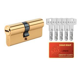 Zárszerkezet cilinder pontfúrt kulcsokkal 26/10/26mm