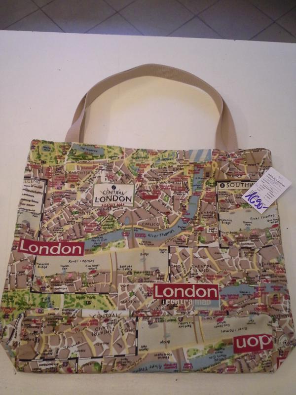 London térképes erős bevásárlótáska - kavalkad.superwebaruhaz.hu 08658e8e5f