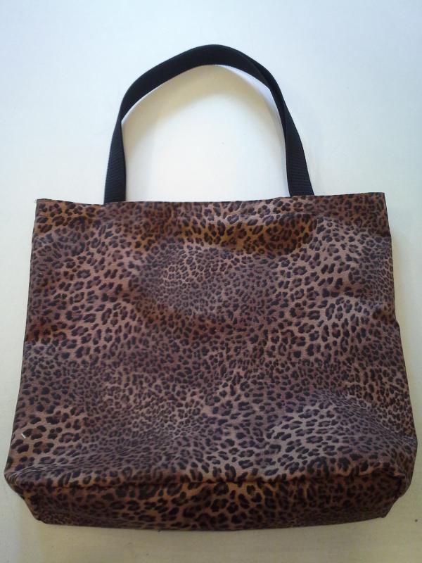 Lopárd mintás erős vászon táska (bevásárlótáska) - kavalkad ... 927d999df7