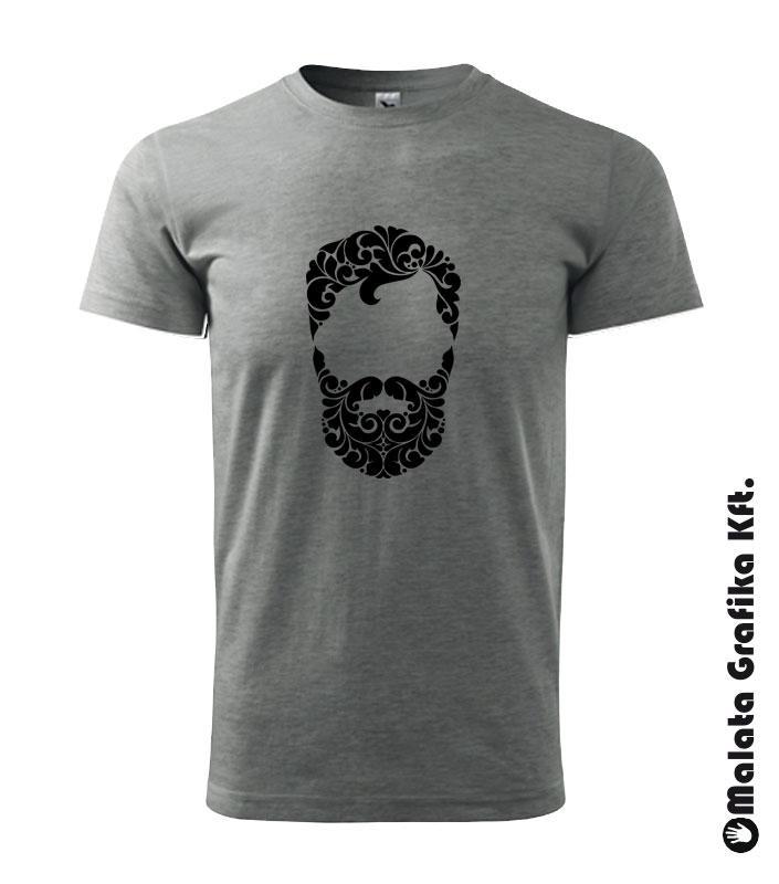 Barber, szakállas póló