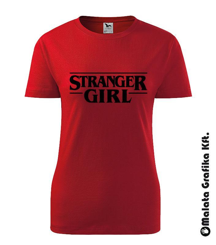 Stranger Girl póló