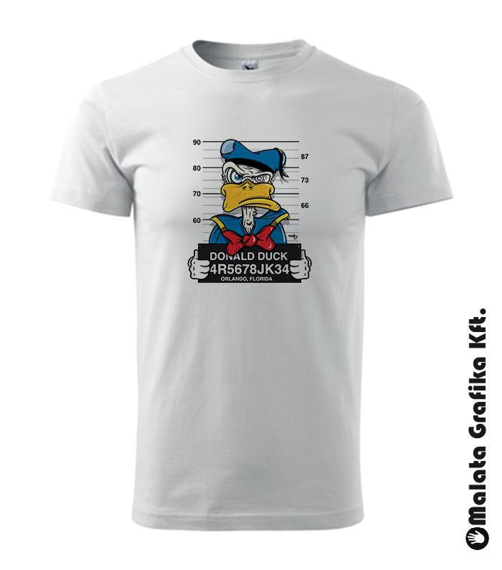 Wanted Donald kacsa póló
