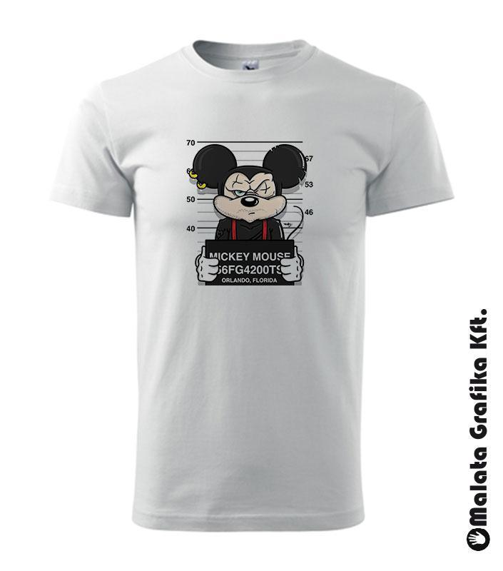 Wanted Mickey egér póló