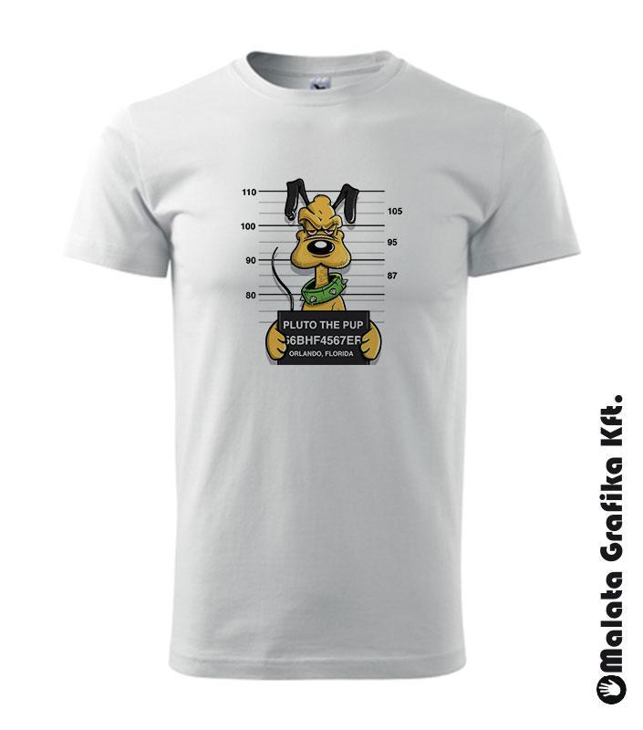 Wanted Pluto kutya póló