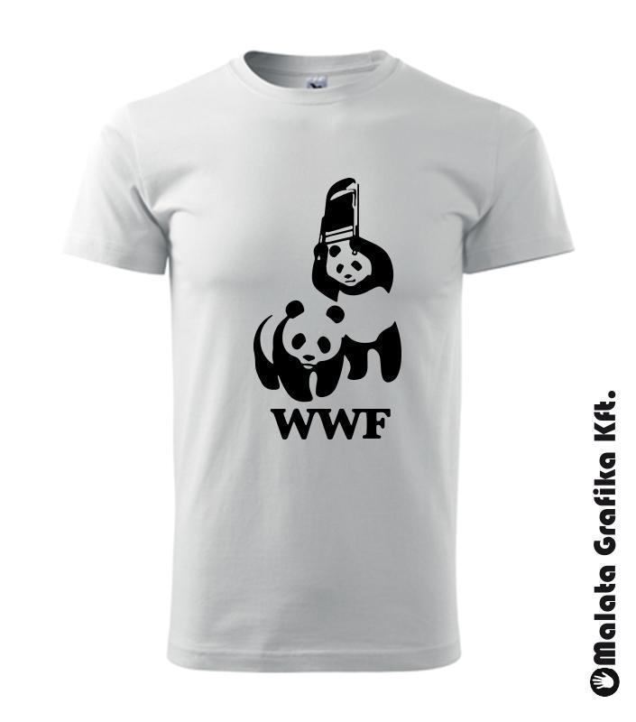 WWF póló igazi aktivistáknak póló