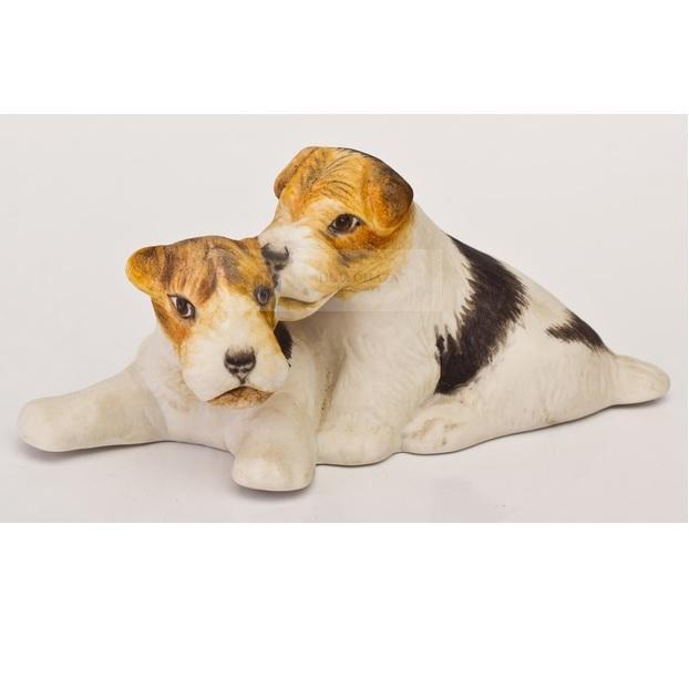 Állatok Foxi páros 4,5cm kutya