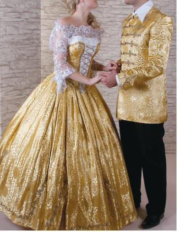 Atilla öltöny fmellé arany ruha 2012