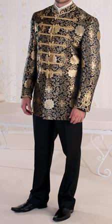 Bocskai öltöny Arany vitézkötéssel díszített