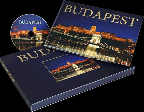 BUDAPEST Díszdobzos képeskönyv és DVD 96o.
