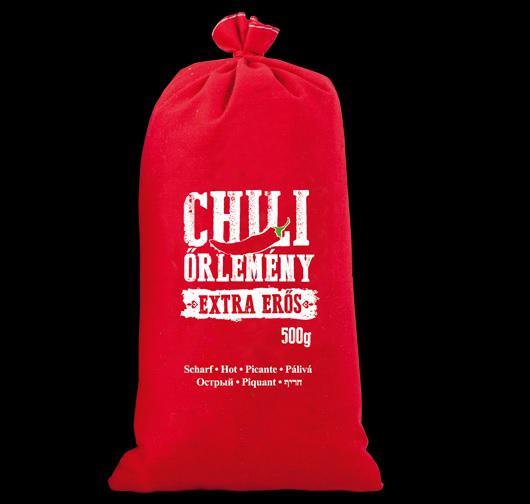 Chili őrlemény vászonzsákban 500g