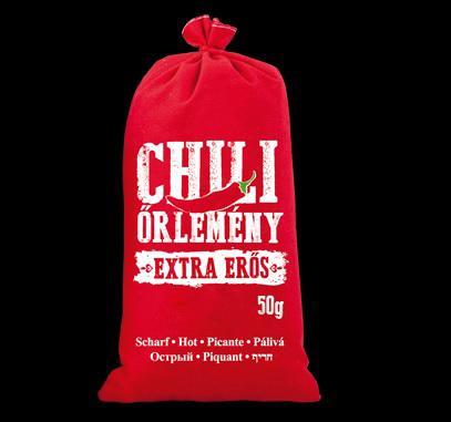 Chili őrlemény vászonzsákban 50g