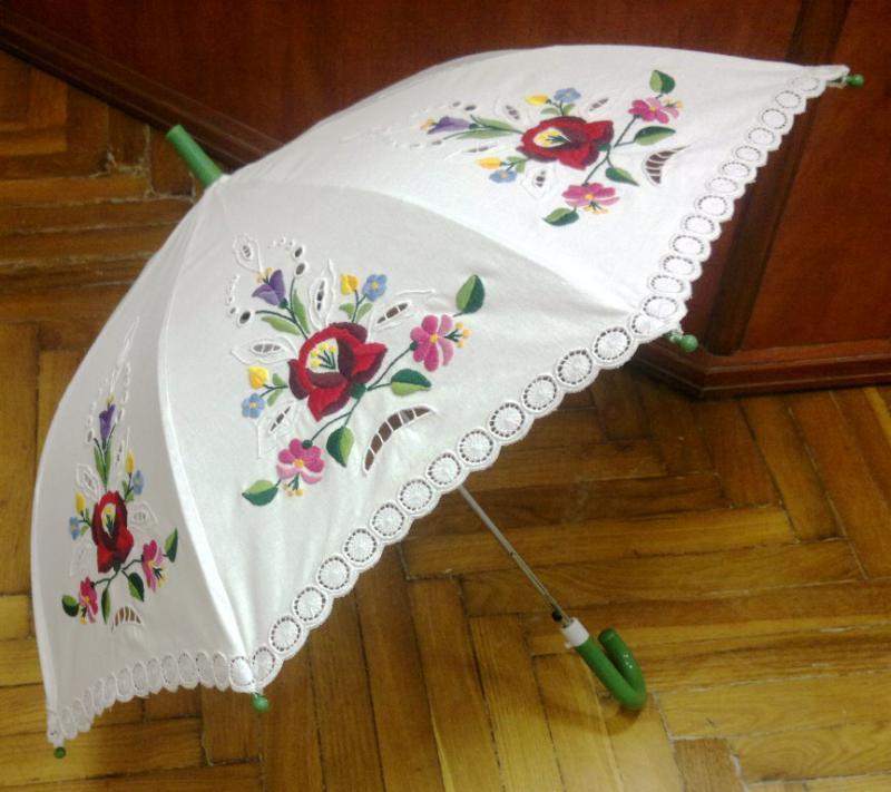 Esernyő - Napernyő kalocsai mintás