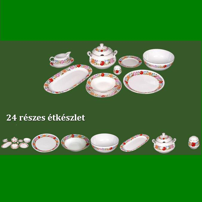 d60407fdf5 kalocsai porcelán; étkészlet; [50100101] - bestproductshungary ...