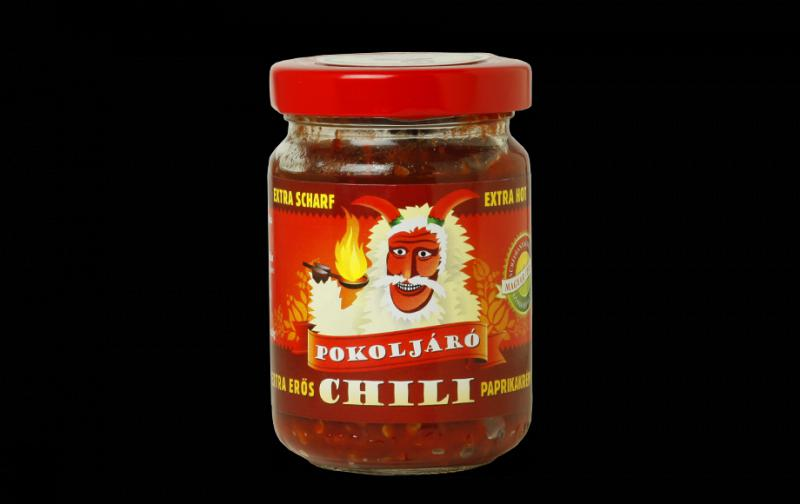 Extra erős pokoljáró chili krém 140g
