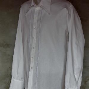 hosszú ujjú ing Petőfi galléros ing