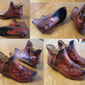 női táltos cipő honfoglaláskori