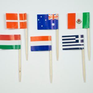zászló pálcikás Magyar vagy többféle   144db