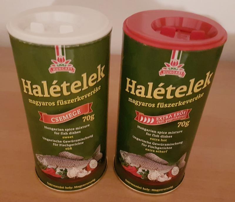 Halételek magyaros fűszerkeveréke extra erős 70g