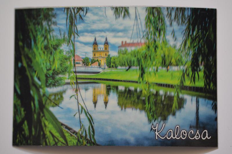 Hűtőmágnes Kalocsa templom2