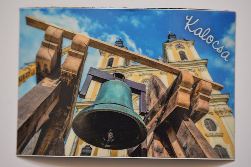 Hűtőmágnes Kalocsa templom3
