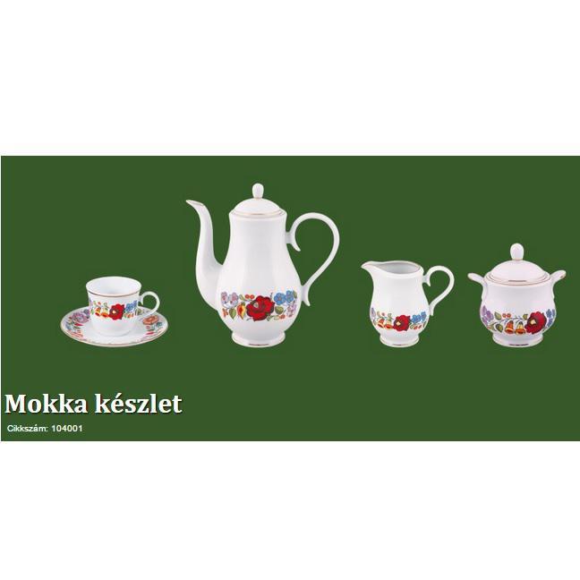 Kávé Mokkakészlet 9 részes