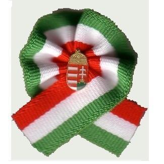 Magyar kokárda eredetileg és címerrel