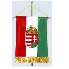 Magyar nemzeti zászló selyemszatén asztali