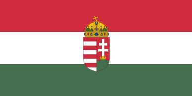 Magyar nemzeti zászlók nyomott címerrel 40/60