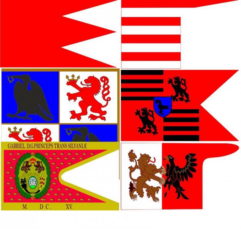 Magyar történelmi zászlók