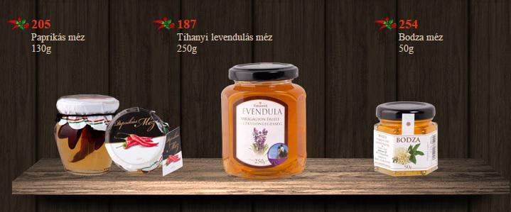Méz Tihanyi levendulás méz