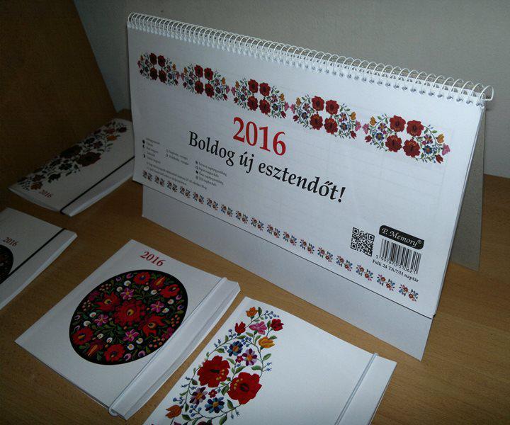 asztali álló naptár Naptár heti asztali Álló 29x13,5 cm [AAA]   bestproductshungary  asztali álló naptár
