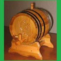 Pálinkás hordók 1-3-5 - 10 - 20 literes /eper, tölgy, akác fából/