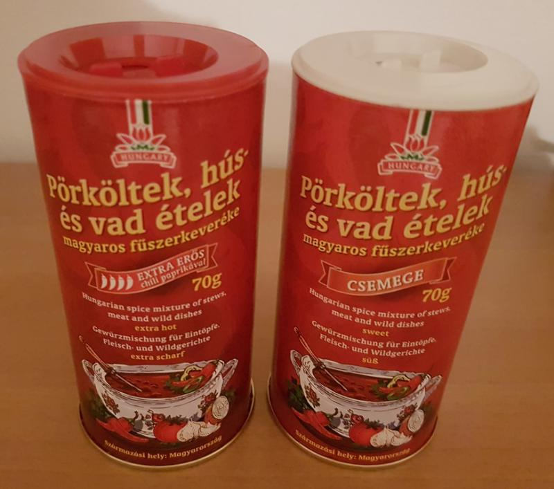 Pőrköltek, hús és vad ételek magyaros fűszerkeverékek 70g