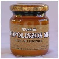 Propoliszos méz 250g