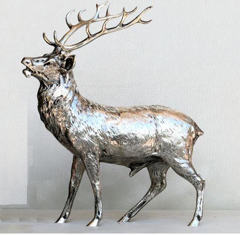 Szarvas ezüst