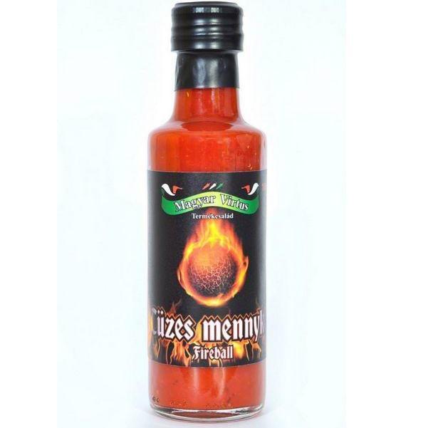 Szósz Tüzes mennykő chili szósz 100 ml