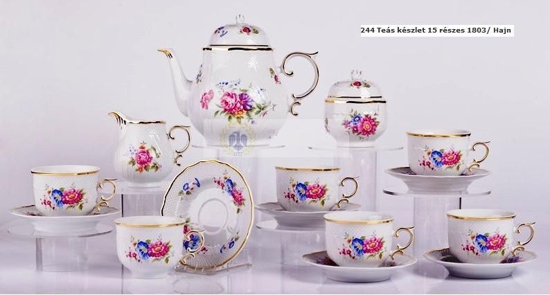 Teás készlet 15 részes Hajn