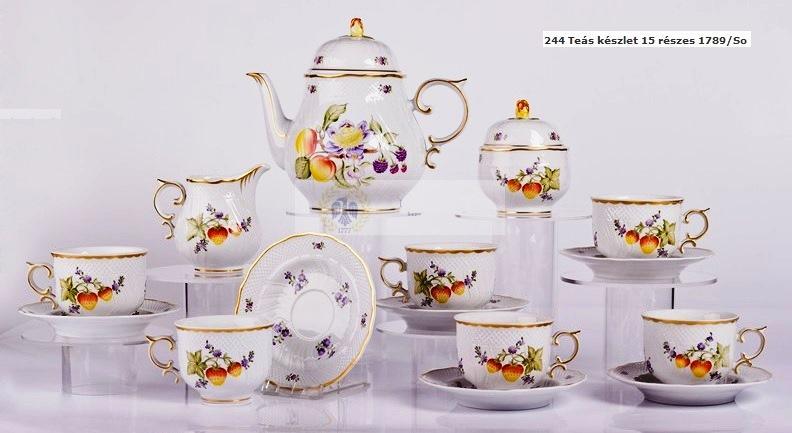 Teás készlet 15 részes So