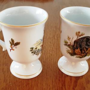 Kávé kappuccino csésze erdei vadmintás 0,2l (kávé, forrócsokis,)