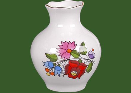 Váza cakkos  10cm