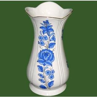 Váza Kehely nagy  régi kalocsai népművészeti mintával