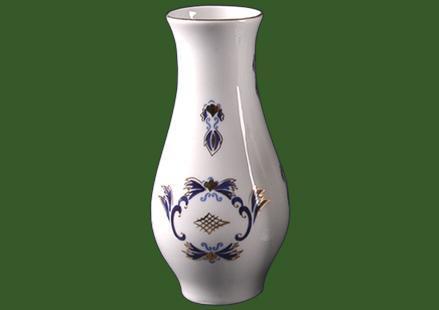 váza Margaréta kék-arany 20