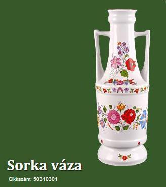 Váza Sorka
