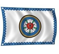 zászló Evangélikus zászló