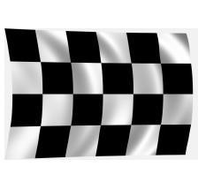 zászló kockás zászló rajt/cél