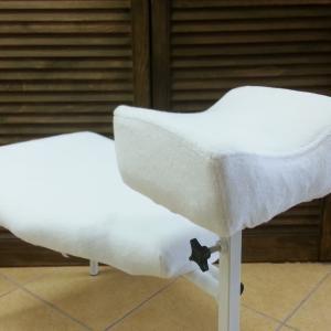 Huzat pedikűrős bútorokra