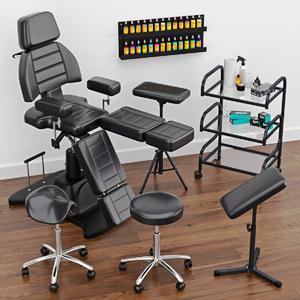 Tetováló bútorok, eszközök