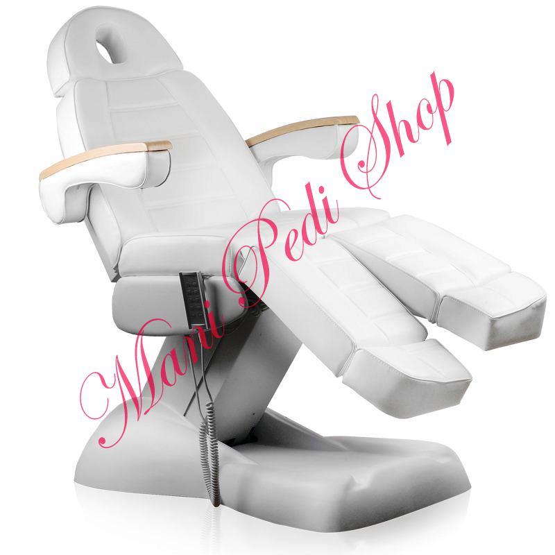 5 motoros pedikűrös kezelőszék, hosszabbítható lábtartóval (0711). AJÁNDÉKKAL!